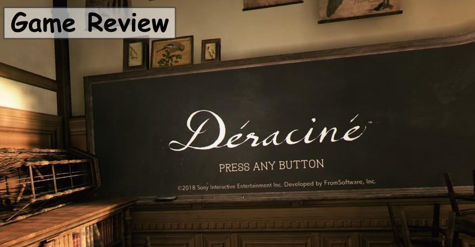 【Déraciné デラシネ】評価/レビュー 儚くミステリアスなストーリーが魅力のVRユーザー必携の傑作