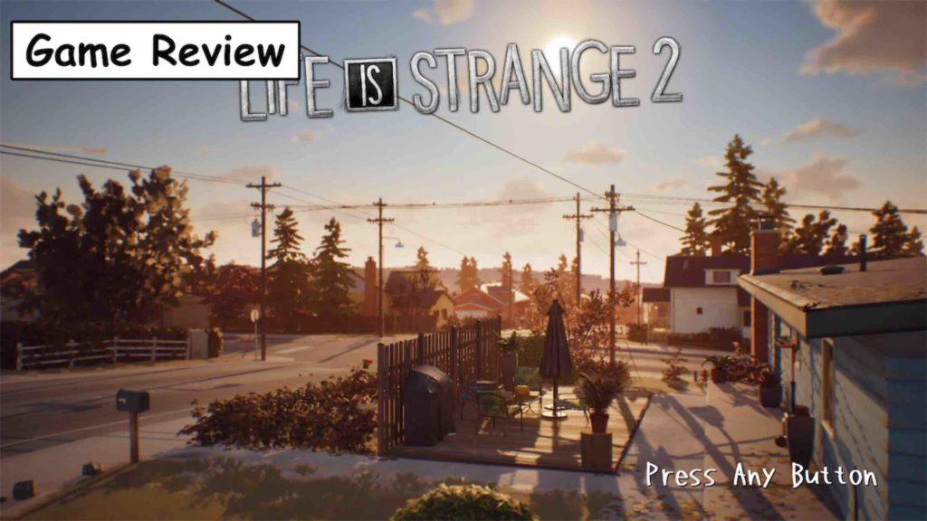 【Life Is Strange 2】評価/レビュー 過酷な兄弟二人の旅路を綴るロードムービーアドベンチャー